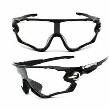 NEW Cyclocross Sunglasses clear Black Bike Cycling Helmet Sun Glasses UV400 Men