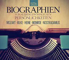 Audiobook CD Biographien Von Exceptional Personalities 5CDs