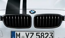 BMW M Performance Genuine Front Kidney Grilles Black F30 F31 51712240778 / 775