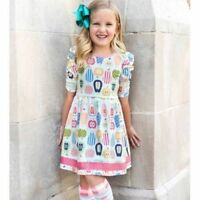 Matilda Jane Class President Lap Dress Girls Size 4 6 8 10 New In Bag Apples