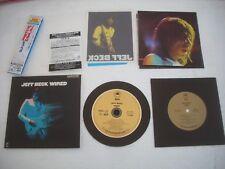 "JEFF BECK  /  WIRED  - JAPAN CD MINI LP 7"" INCH CD and SUPERAUDIO CD"