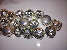100x PRECIOSA MC Chaton Crystal Strass ss30 unzioni Glitzersteine art.7192-7085