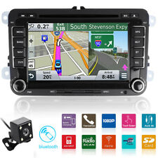 "For VW Golf 5 6 Plus Caddy 7"" 2 din Autoradio Stereo DVD Player GPS Navigatore"