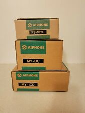 New listing Lot of 3 Aiphone My-1Cd Video Entry PanTilt Security System, My-Dc, Ps-18Yc