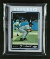 2005 Topps Chrome Refractor  - ALEX RODRIGUEZ - Card #1 MINT