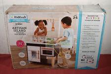 Kidkraft Artisan Island Toddler Kitchen Made of Wood