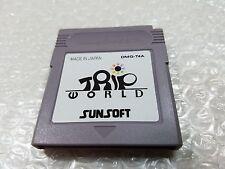 Trip World Game Boy Japan Mr Gimmick Nintendo GB # rare gb dmg