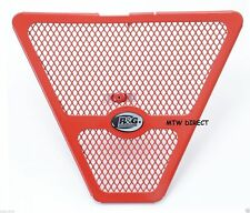 R&G RACING RED DOWNPIPE GRILLE Honda CBR1000RR SP (2015)
