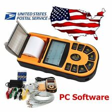 FDA Portable Digital 1-channel Electrocardiograph ECG Machine EKG,12 leads,USA