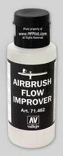 AIRBRUSH FLOW IMPROVER - Vallejo 60ml Flip-Top Bottle #71462 FREE SHIPPING