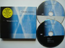 ⭐ XAVIER NAIDOO  ⭐ Telegramm für X  ⭐  CD + BONUS DVD EDITION  ⭐ 2005/ 06