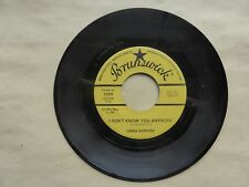LINDA HOPKINS -Brunswick 55211- Happiness / I Don't Know You Anymore- R&B