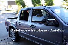 HOLDEN COLORADO CREW CAB 08-12 WEATHERSHIELDS WEATHER SHIELD DOOR WINDOW VISOR