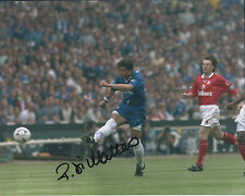 Roberto DI MATTEO Autograph CHELSEA Legend 10x8 Photo AFTAL COA Authentic