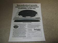 Technics SP-10 Mk II Ad, 1975, Article, Info, 1 pg