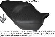 Fibre de carbone vinyle personnalisé Fits Honda VFR 1200 F 09-13 double housse de selle