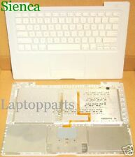 "Genuine Macbook A1181 A1185 13"" Laptop Top Case Palmrest US Keyboard White KY81"