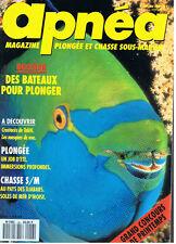 APNEA MAGAZINE  N°48  PLONGEE ET CHASSE SOUS-MARINE