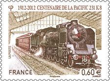 2012 - ADHESIF - TIMBRE FRANCE NEUF** Centenaire de la Pacific 231. K8  - Yv.711