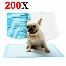 200 X Dog Puppy Pet Extra Large Training Pads Pad Wee Floor Toilet Mats 60x45cm