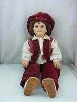 Fiba Made in Italy, Künstlerpuppe, Puppe, Vintage, 60 cm