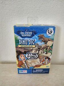 Dr. Steve Hunters Dino Dig Excavation Kit STEM Dinosaur Velociraptor NEW