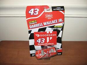 2020 Bubba Wallace #43 DoorDash 1/64 Nascar Authentics Wave 9