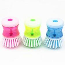 Kitchen Dish Washing Cleaning Up Brush Brushes Easy Scrubbing Liquid Detergentt