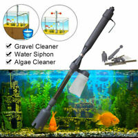 520L/H Electric Siphon Vacuum Cleaner Water Filter Pump Aquarium Fish Tank
