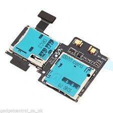 Samsung Galaxy S4 I9500 I9505 Sim Card Memory Reader Tray Slot Flex