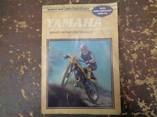 Yamaha 250-500cc Enduro/Motocross Service & Performance Manual