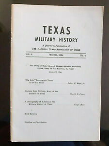 1964 Texas Military History, Capt. John Holliday Army Texas Revolution 1836