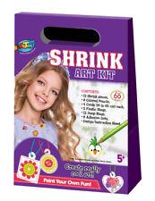Shrink Art Kit - Jewellery Plastic Shrink Sheets Magical DIY Craft Bake Your Art