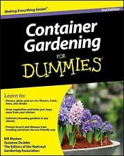 Container Gardening for Dummies by Suzanne DeJohn Paperback Free Shipping