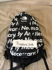 Supreme By Any Means Necessary Backpack Black in ONE SIZE