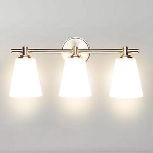 LED Mirror Front Make-up Vanity Light Bathroom Lighting Fixture Wall Lamp 3-Blub