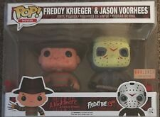 Funko Pop! Freddy Krueger & Jason Voorhees Bloody 2 Pack Box Lunch Exclusive