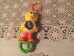 Sesame Street Big Bird Pull Crib Toy