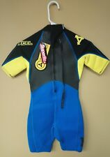 Superlite Xcel Youth size 12 Wetsuit Blue Black Yellow NWT NEW