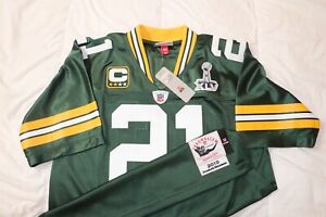 Green Bay Packers Charles Woodson Mitchell & Ness Jersey sz44 w/ SB Patch NWT