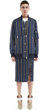 Viscose Dry-clean Only Striped Coats & Jackets for Women