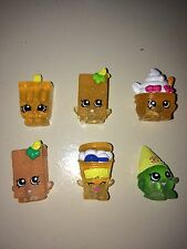 SHOPKINS SEASON 1 FROZEN LOT OF 6 YO CHI, ICE CREAM DREAM, FISHTIX, POPSICOOL