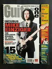 Guitar One Magazine March 2007 Incubus Mike Enzinger  No ML