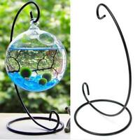 Iron Stand Hanging Stand Candle Flowers Plant Vase Support Lantern Holder Decor