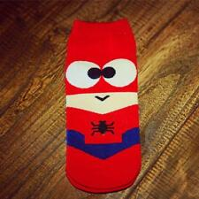 2017 Cute Marvel Spiderman Thin Soft Cotton Low-Cut Ankle Unisex Cosplay Socks