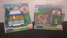 PEPPA PIG PEPPA PIG PHOTO BOOTH PLAYTIME AND LITTLE CAMPER HOLIDAY PLAYSETS New