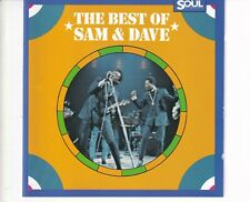 CD SAM & DAVE	the best of	GERMAN EX- (A5849)