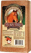 Sturdy Steed Horse Salt Block Evolved Part 94003, Apple, Size 4 Pound, Salt, Dec