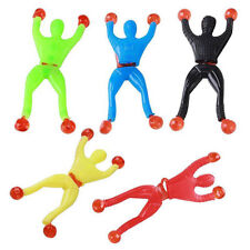 Plastic Sticky Wall Climbing Flip Rolling Men Climber Spiderman Kids Toy Favors