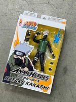 """Bandai Anime Heroes Naruto Shippuden Kakashi 6"""" Action Figure new"""